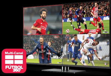Multi Channel - Fútbol 360 - PROVIDENCE, RI - One Stop Satellite - Distribuidor autorizado de DISH