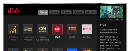 Vea television con DISH - One Stop Satellite en PROVIDENCE, RI - Distribuidor autorizado de DISH